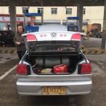 Taxi fahren – und das am Morgen