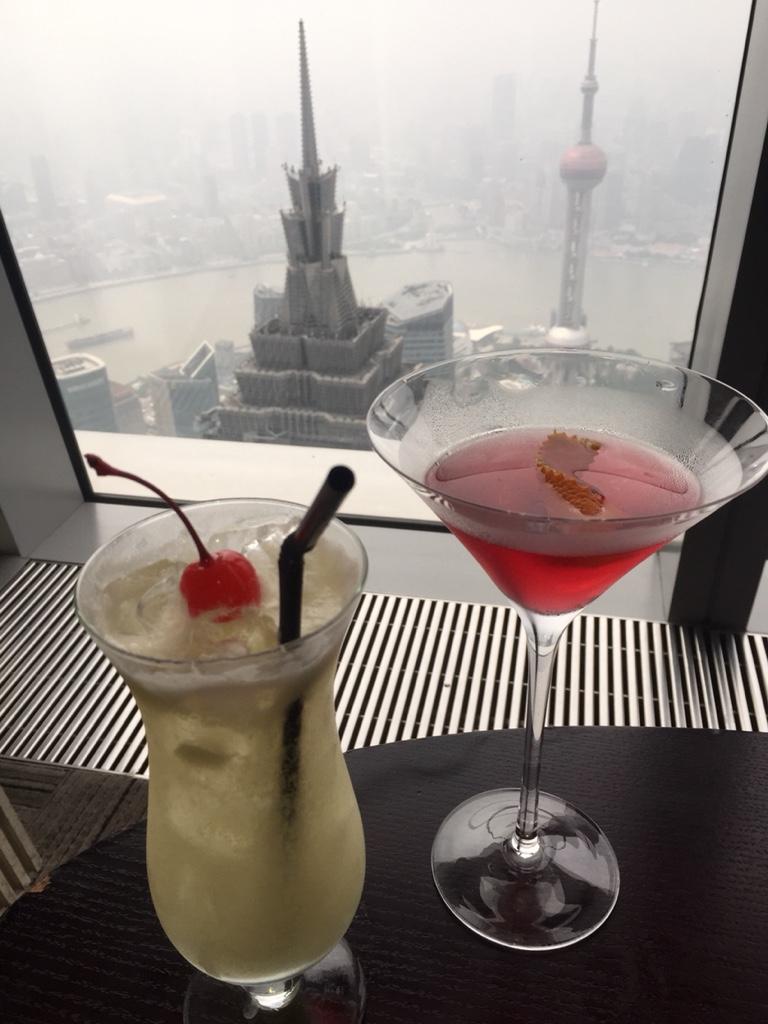 Schwindelerregender Cocktail