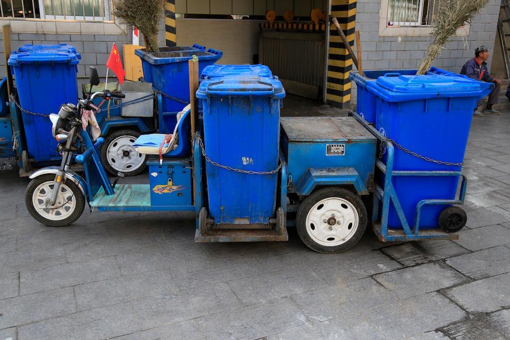 Praktische Müllabfuhr