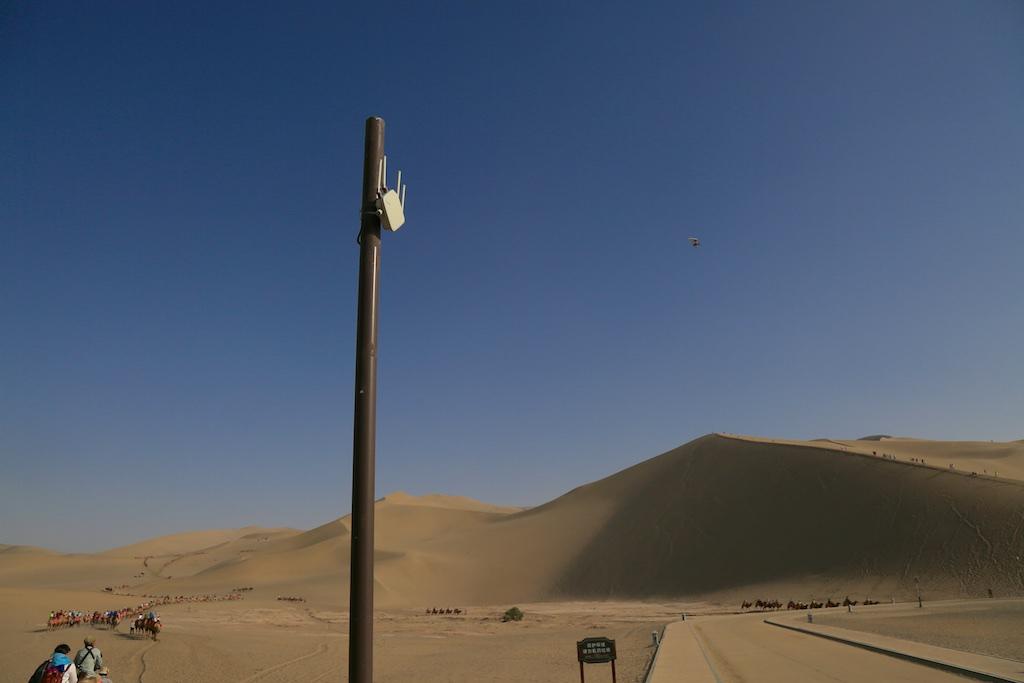 Technik in der Wüste