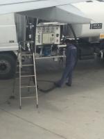 Bilder von der Tankstelle