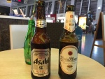 Internationaler Flughafen, internationales Bier