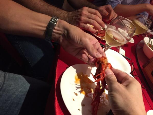 Flusskrebs: Tier oder Essen?
