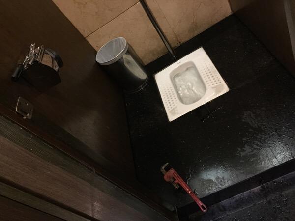 Toilettengeschichten – die Toilettenreparatur