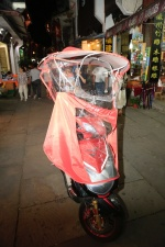 Regencape für Roller