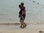 So trägt die Chinesin ihre Flip Flops heute