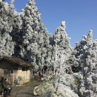 Hengshan – Winterlandschaft