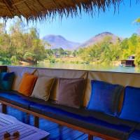 2 Langnasen in Thailand, der River Kwai