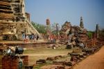 Zugfahrt in Thailand