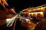 Im südlichen Lijian bei Nacht
