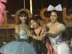 Asiatische Transvestitenshow