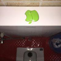 Applemania – Heute: Die Toilette