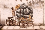 Wandmalereien in Ipoh