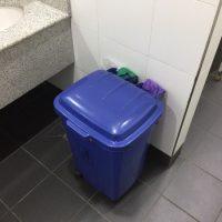 Toilettenputzlappen