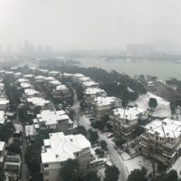Schnee in Changsha
