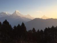 Nepals Sonnenaufgaenge
