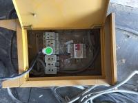 Kabelverlegung auf der Baustelle